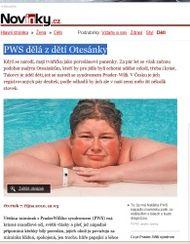 Článek v deníku Právo o PWS